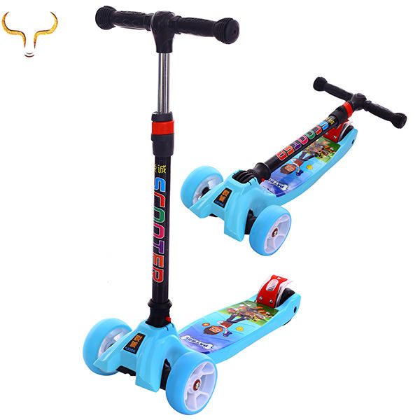 Hot sale cheap three wheels kids scooter China mini push kick scooter
