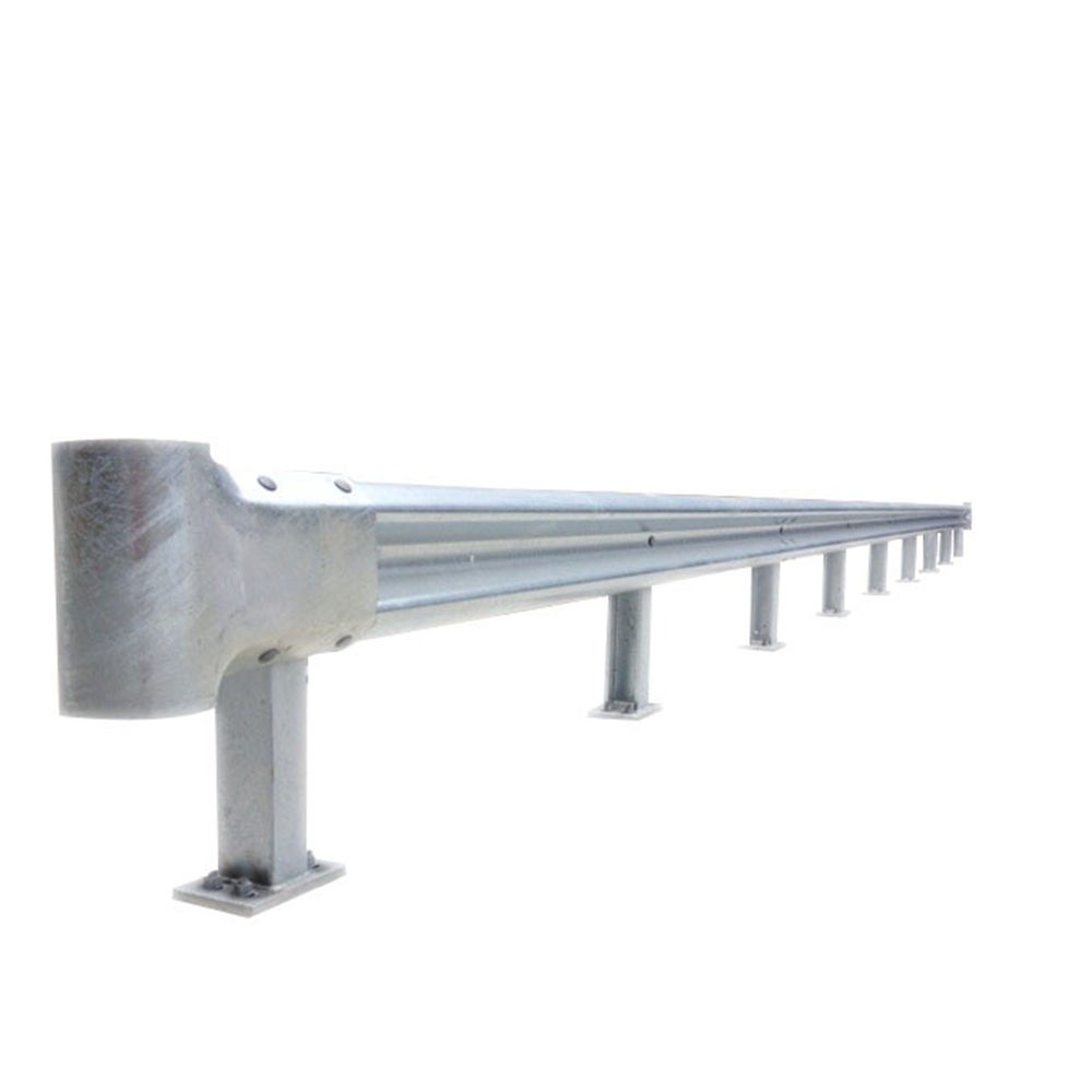 traffic road safety w-beam galvanized powder coating traffic security barrier