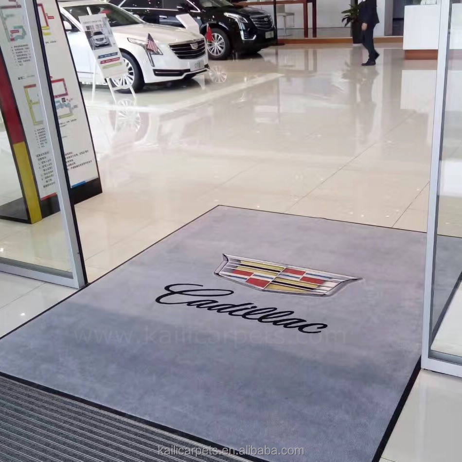 100% Nylon Printed Entrance pvc Door mat Logo Mat