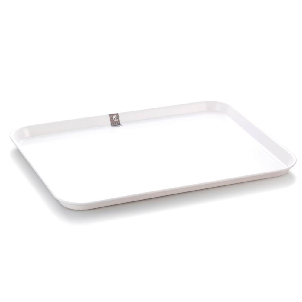 Restaurant used rectangular flat plastic custom melamine tray