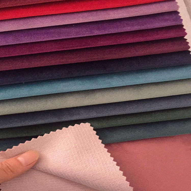 Sofa Bonded Fabric Stock Suede Sofa Upholstery Fabric