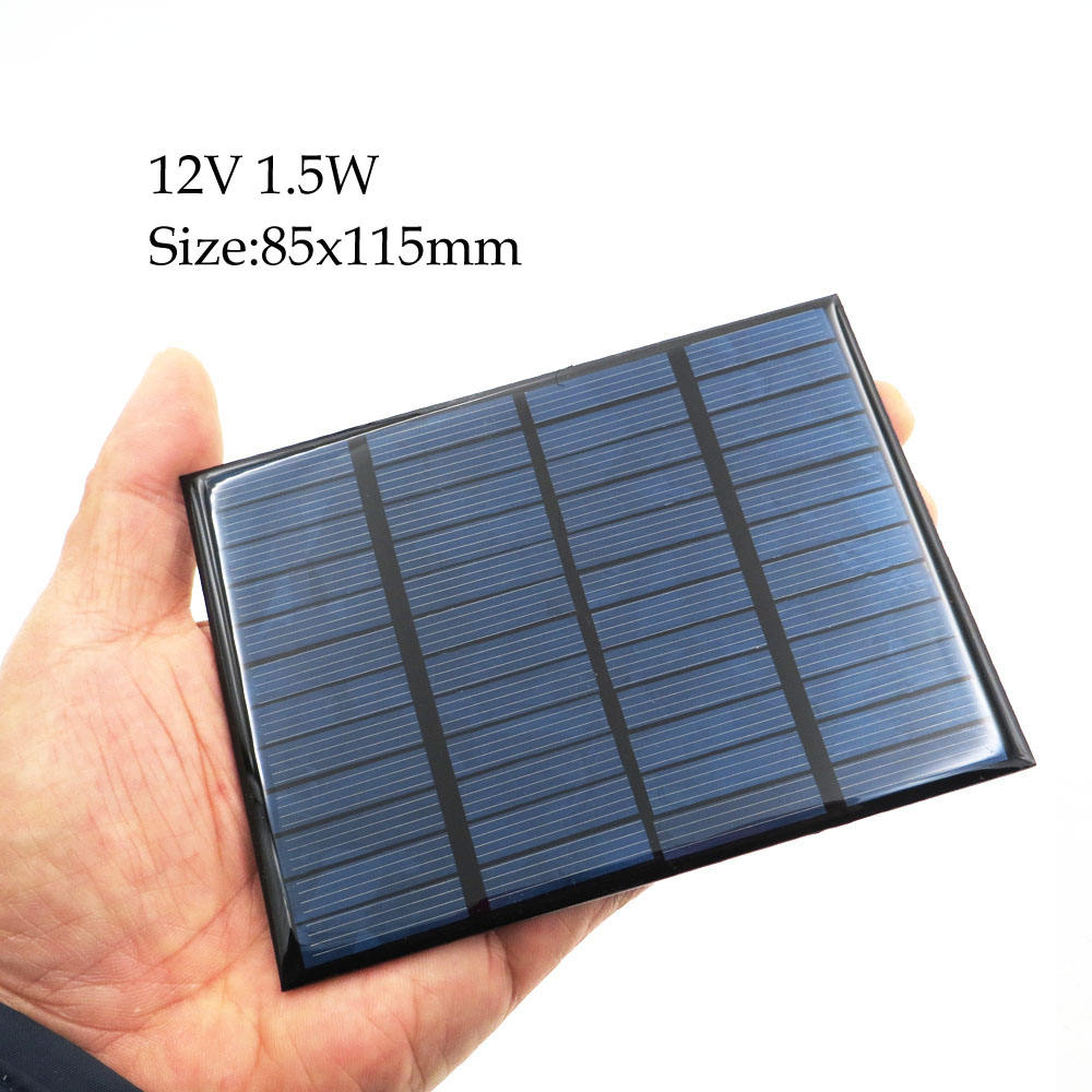 Smart Electronics~Solar Cell 12V DC Mini Solar Panel kit DIY For Battery Cell Phone Chargers Portable
