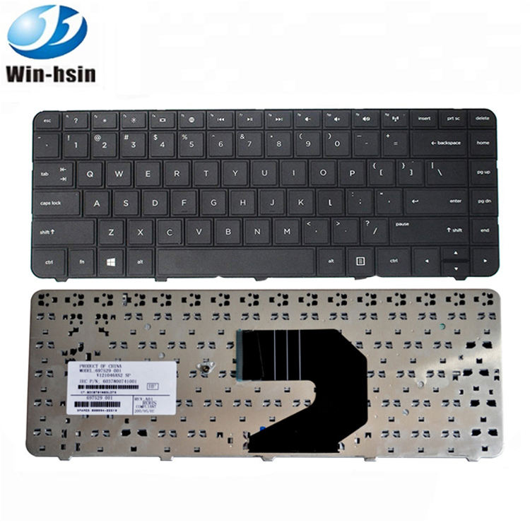 Factory wholesale keyboard for HP Compaq Pavilion G4 G6 G4-1000 G6-1000 CQ43 CQ57 CQ58 US SP notebook internal laptop keyboard