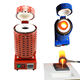 3KG Portable Electrical Gold Silver Smelting Furnace Machine