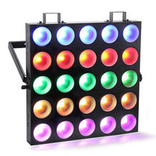 China Wholesale High Quality 25pcs 10W 3in1 RGB COB 5x5 LED DMX Matrix Blinder Wash nightclub disco stage DJ lights led matrix