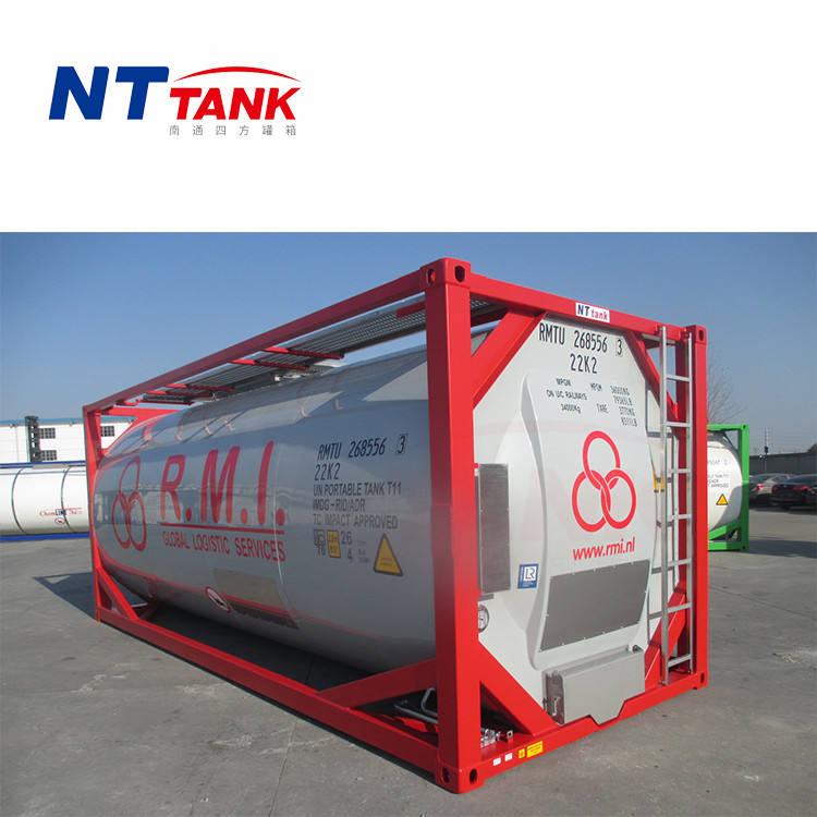 Transport carbon steel food grade iso tank containers