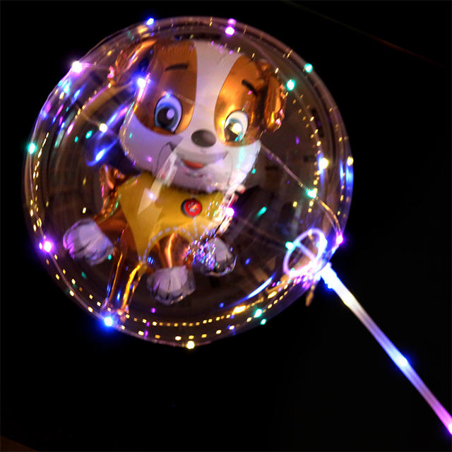 2019 Amazon Hot Koop Party Decoratie Transparante Ballon Met Led Ballon Licht Bobo Hot Air Ballon Prijs
