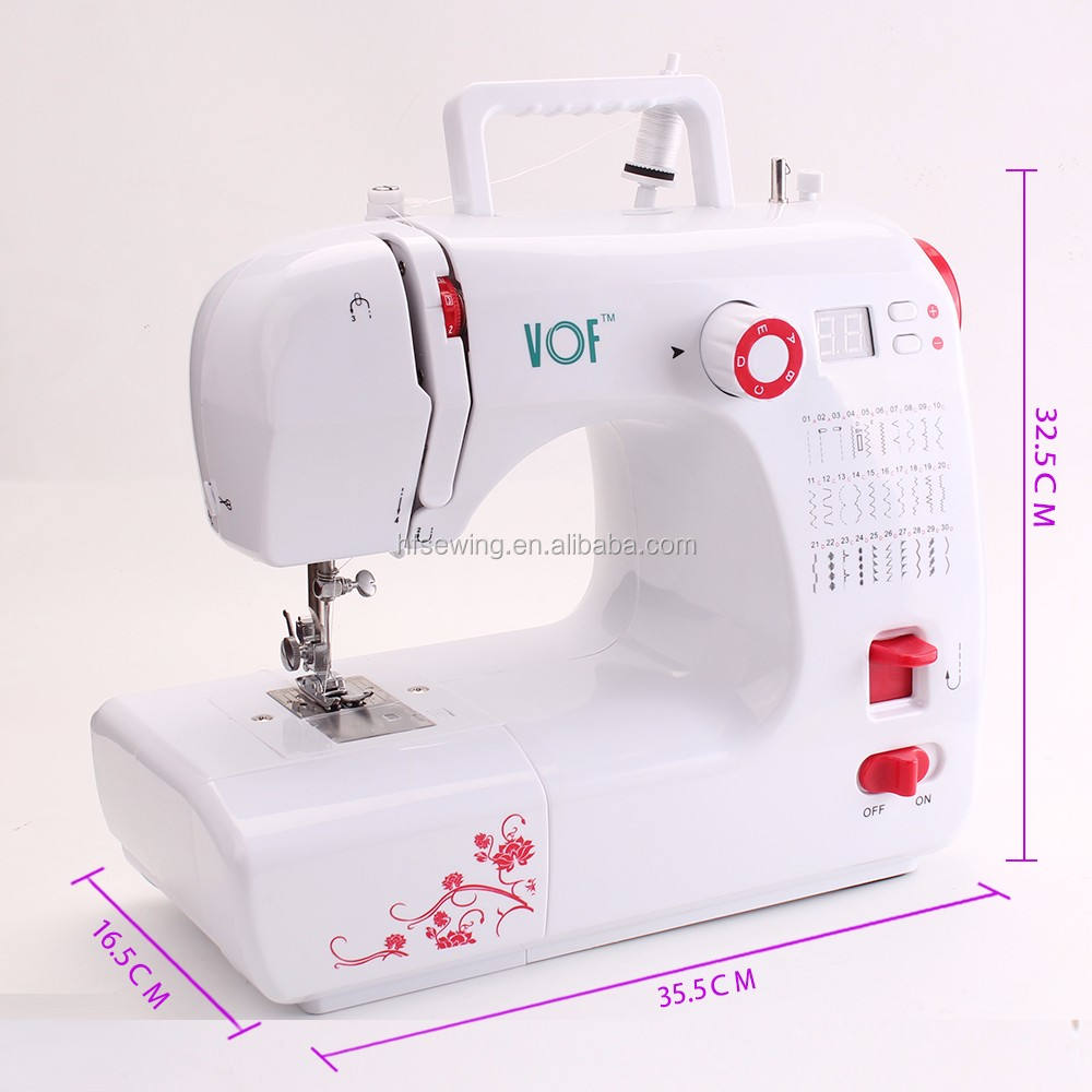 Vof fhsm 702 China Product Household Overlock Mini Sewing Machine for Clothes