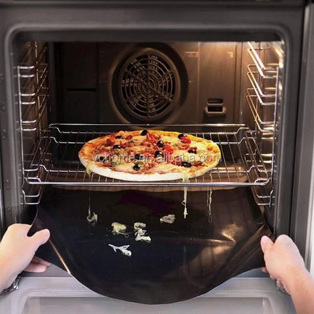 Amazon top seller 2019 PFOA free reusable PTFE large non stick silicone oven liners