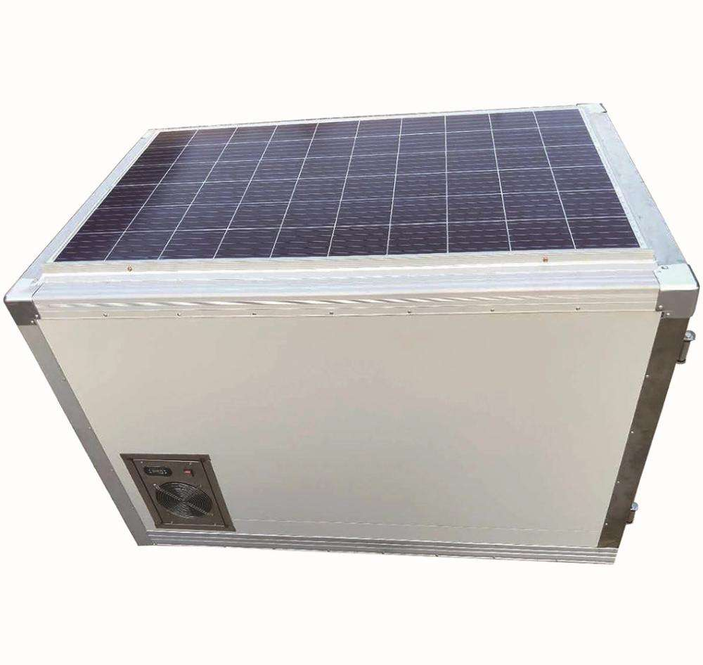 DC Solar Power Refrigerated Delivery Box Mini Cold Room for Pickup Truck/Ice Cream Van