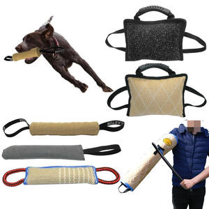 K9 Canine Pet Training Toy Indestructible Out Door Dog Tug Toys Dog Training Dummy for Large Dogs