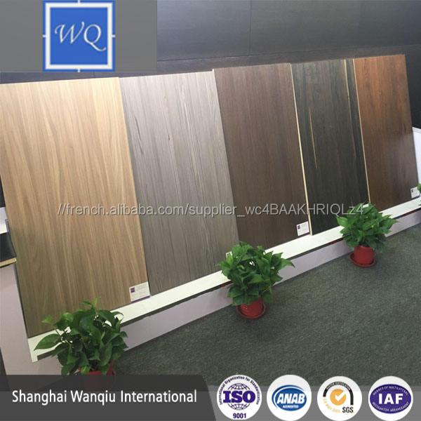 2017 Nouveaux produits sur le marché Chinois un côté mélamine MDF alibaba con/Synchronisé bois grain mélamine MDF conseils