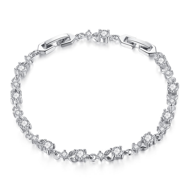 Attractive Design Qings Cooper Silver Plated Bracelets