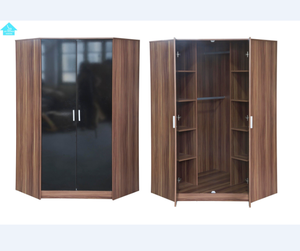 bedroom furniture corner wardrobe