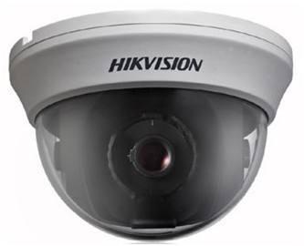 420 TVL CCD cámara domo, cámara de seguridad de la cámara domo Hikvision cctv