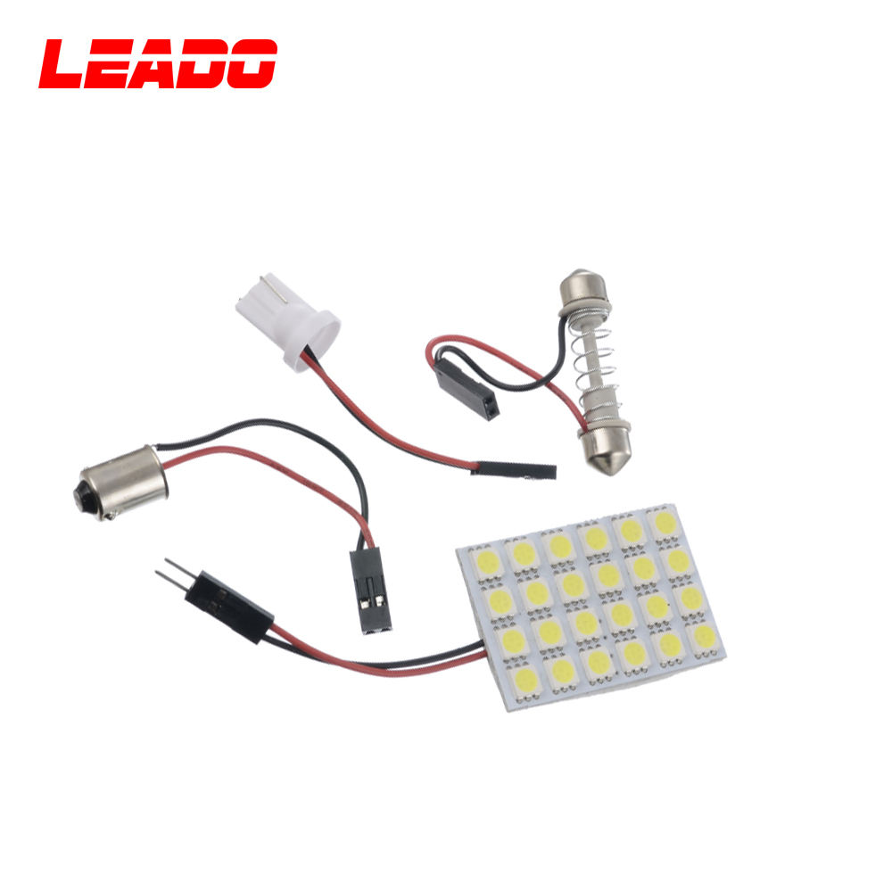 24SMD 5050 T10 <span class=keywords><strong>Ba9S</strong></span> Feston Led Panneau <span class=keywords><strong>Lampe</strong></span>