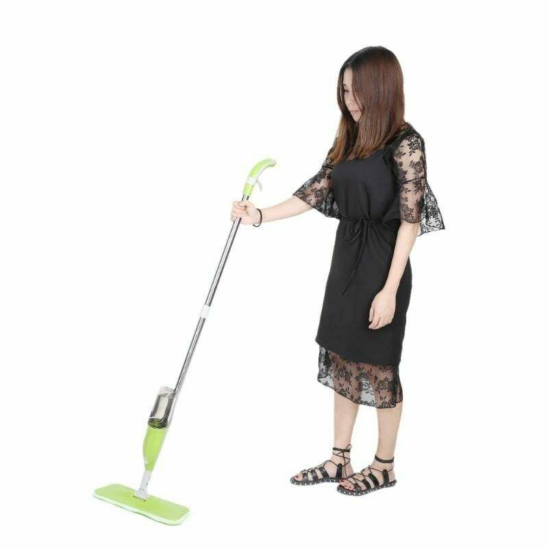 360 Degree Professional Handle Floor Spray Plastic Mop for Home Cleaning