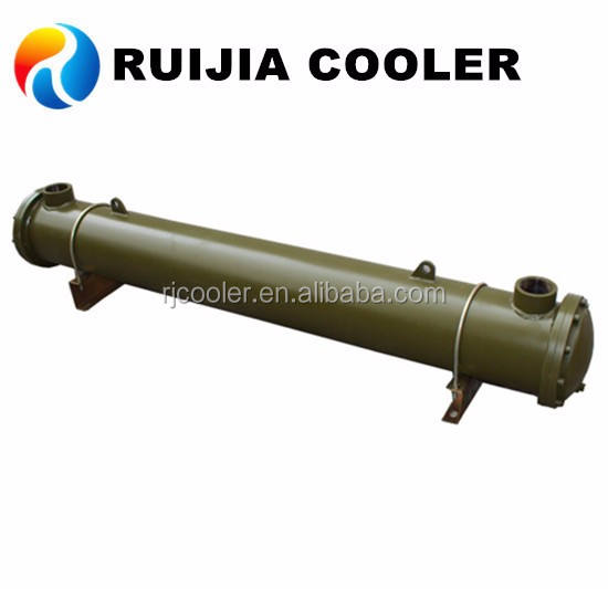 Hydraulic copper tube shell heat exchanger API Basco water oil cooler condenser evaporator