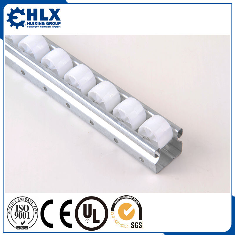 Hlx Supplies Esd Roller Placon Conveyor Track Roller Track For Pipe And Joint Rack System Warehouse Facilities