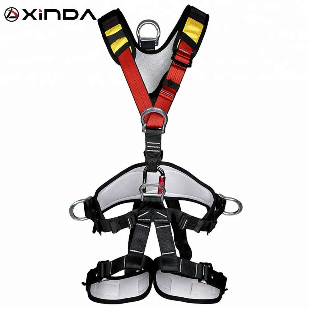 XINDA CE certified full body safety harness for working at height construction working on tower