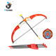Children toy set plastic bow and arrow for kids