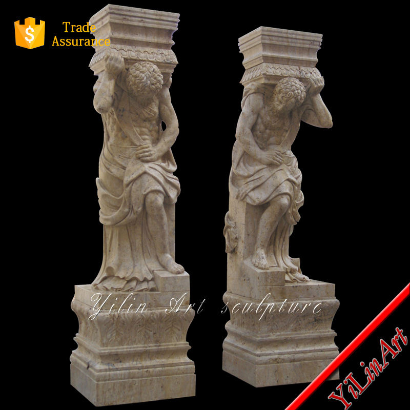 Good price wholesale building marble design pillar
