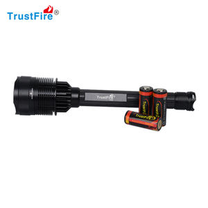 2012 polisi senter 7 LED 8000 Lumen 5000 mAh Rechargeable Aviation Aluminium Alloy Multifungsi Senter Torch