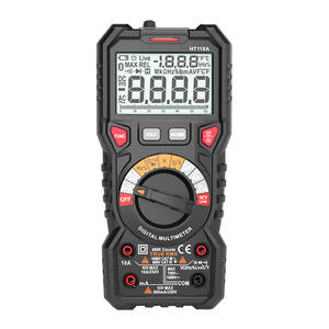 HT118A 6000 Counts True RMS Resistance Frequency Temperature NCV Test Multimeter Best Auto Range Multimeter Digital for Sale