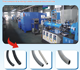 rubber recycling machine///EPDM rubber sheet and hose extrusion production line