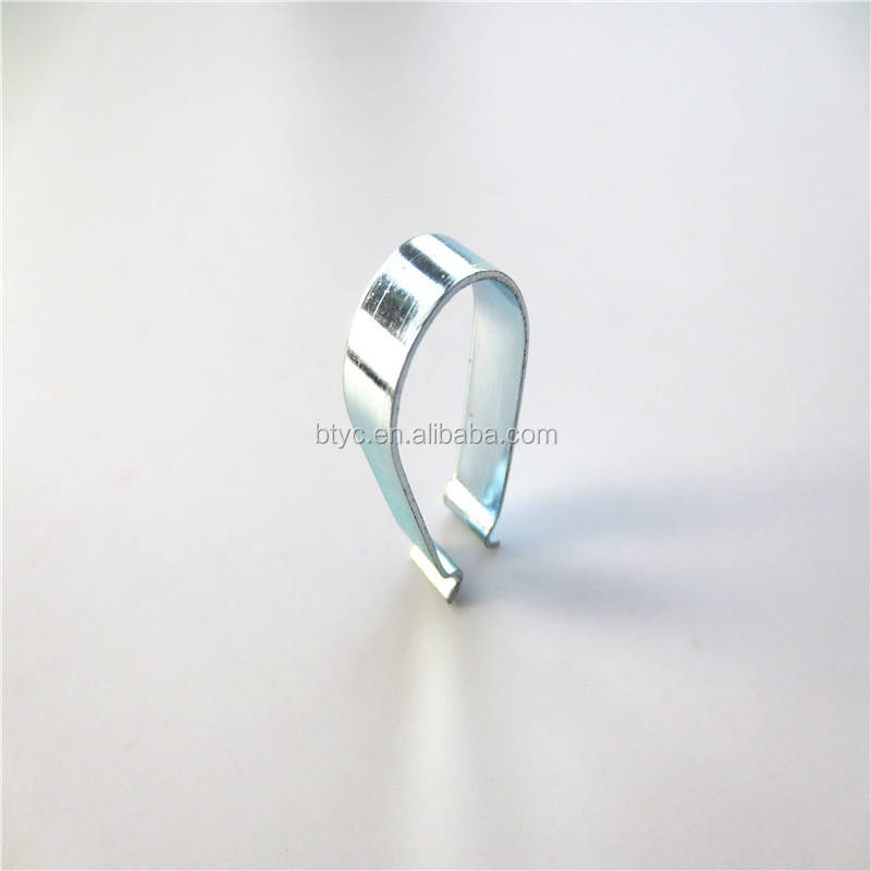 Manufacturer Stainless Steel Band U-clip Type Bending Sheet Metal Spring Clips For Clothes Clips
