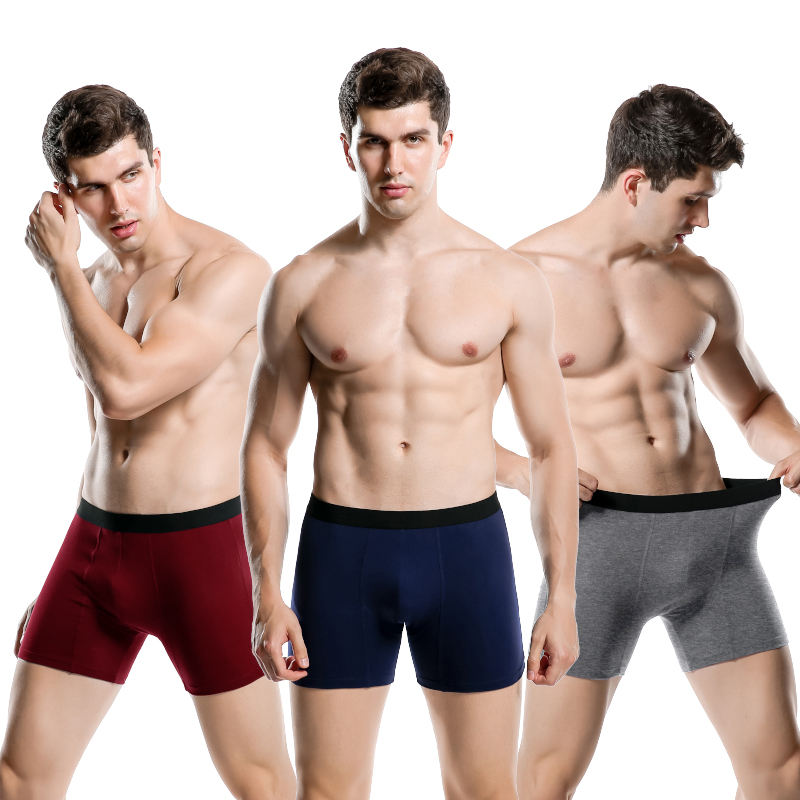High Quality 100% cotton private label men's briefs & boxers underwear Special Offers Available oem satin boxer shorts for men
