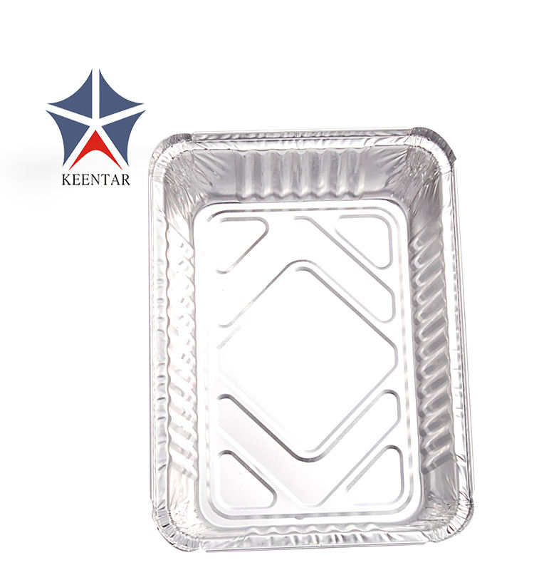 Disposable Takeaway Fast Food Aluminium Foil Food Container,Aluminum Foil Baking Tray