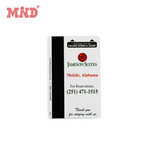 High quality cheap price PVC hotel key card with magnetic stripe