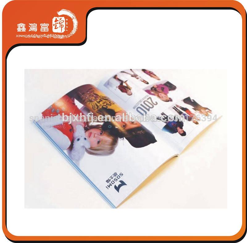 perfil de la empresa de impresión de diseño de folleto