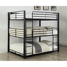 Free Sample Triple Sale Uk Cheap Metal Modern Bunk Bed For Three