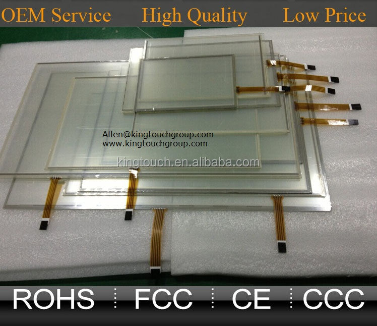 7 8 8.1 8.3 9 10 10.1 10.4 12.1 13.3 14.1 15 15.6 17 18.5 19 21.5 24 Inch 4 wire Resistive Touch Screen Panel