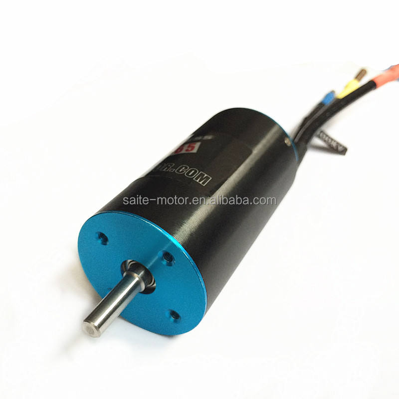 ST 2858 brushless dc motor 1430KV~4800KV 6T~20T 2 Pole Inrunner Brushless Motor With ESC For RC Car/RC Boat/Ducted Fan
