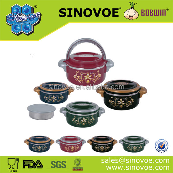 popular Africa stainless steel thermal hot pot carrier