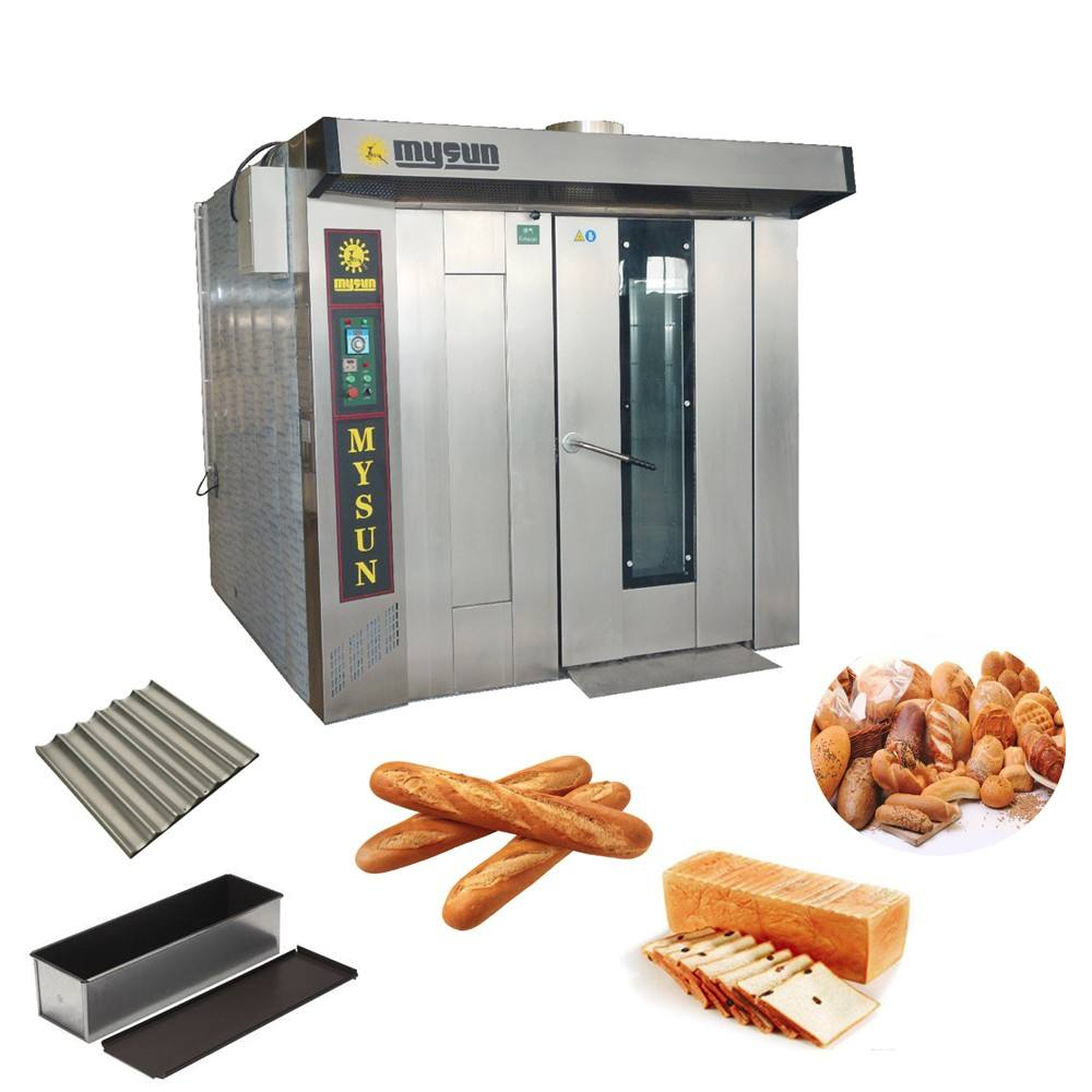 Industriële <span class=keywords><strong>Brood</strong></span> Maken Machines Roterende Oven Pizza Oven Gas