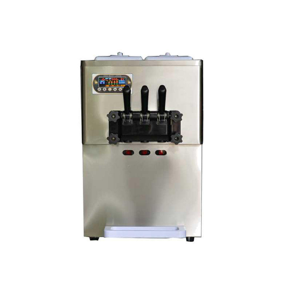 Topping Selling Soft Ice Cream Machine Soft Ice