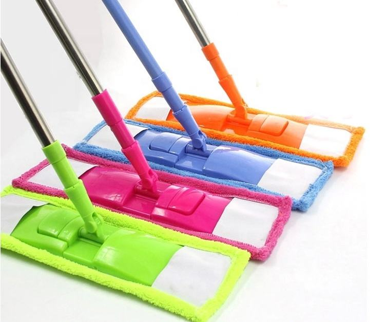 High quality new design 360 microfiber Flat Mop,Microfiber Cleaning Spray Mop