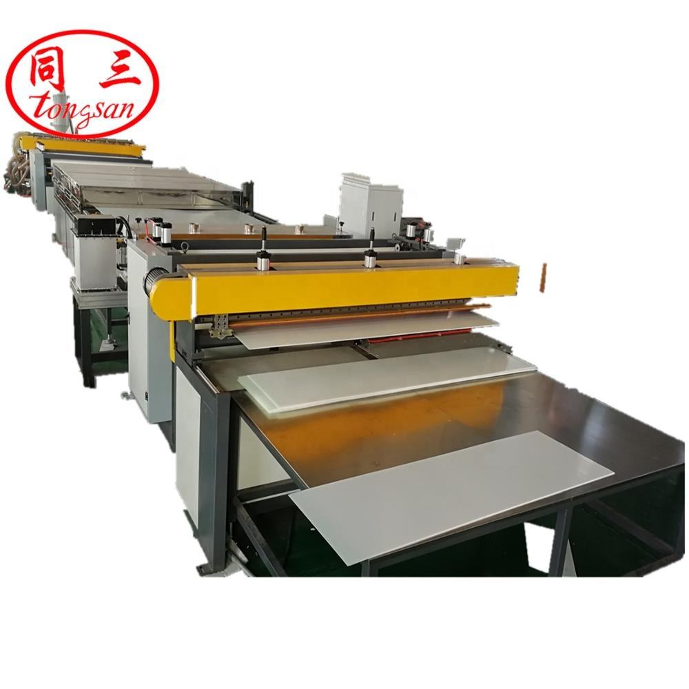 plastic pp polypropylene hollow corrugated sheet making extrusion machine most professional supplier Qingdao Tongsan Plastic mac