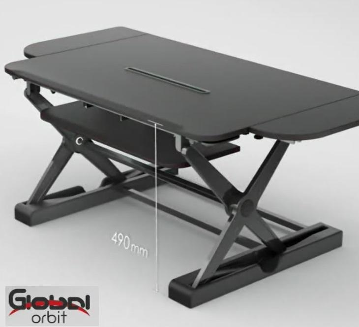 Height Adjustable Office Sit Stand Desk Computer Desk Riser