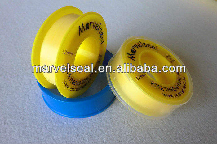 Standard 12mm Ptfe Thread Seal Tape Popular P.t.f.e Pipe Yellow in Saudi Arabia Market