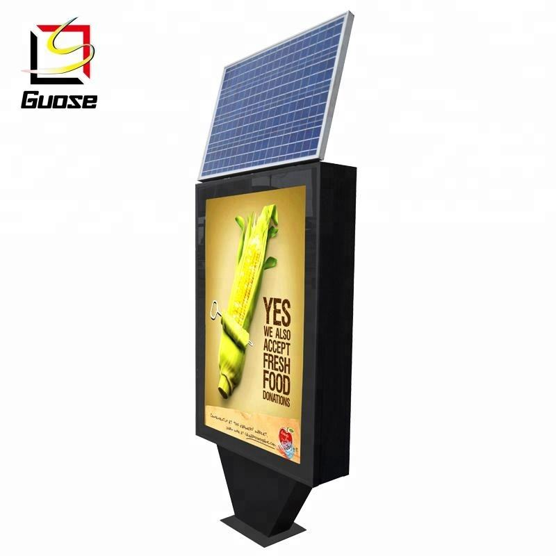 outdoor advertising solar panel led signs outdoor