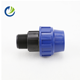 Four way tee forged flange spigot pipe ferrule male female tube era pvc electrofusion drip irrigation fittings for round tube