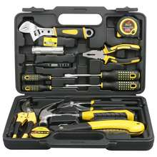 Hot Selling Tool Set General Household Hand Tool Kit with Plastic Toolbox Storage Case Box Hand Tool Set