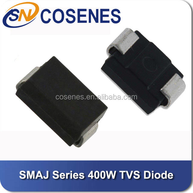 TVS Diodes 5 pieces Transient Voltage Suppressors 400W 5.0V 5/% Bi AEC-Q101 Qualified