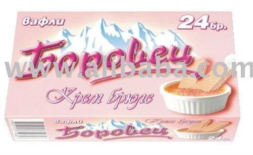 BOROVETS WAFER WITH CREAM BRULEE