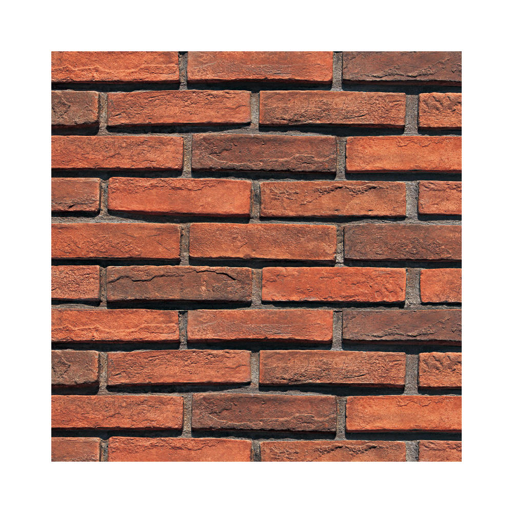 red clay brick panels faux 3d decorative wall tiles artificial interior cement brick veneer cladding exterior wall brick tiles